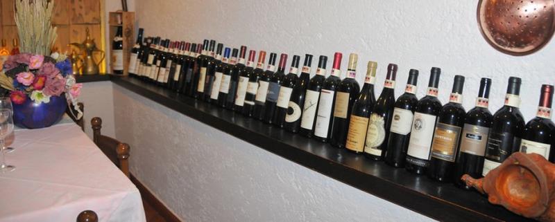 Idro lake, Hotela Alpino wine cellar