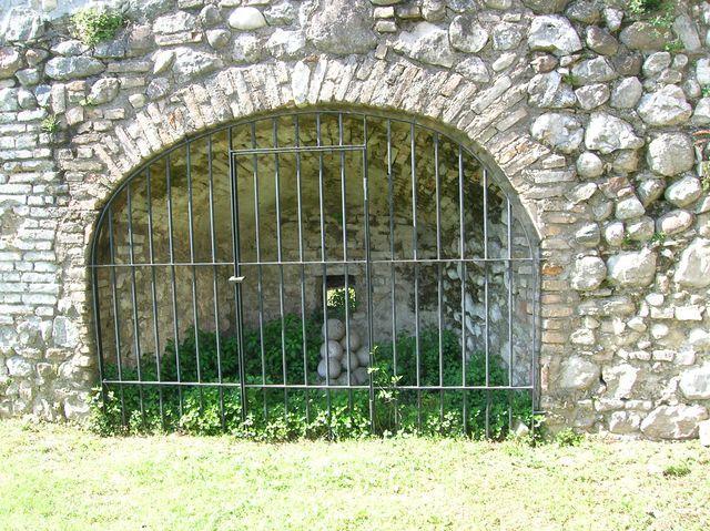 Militärisch Festung um Idro See