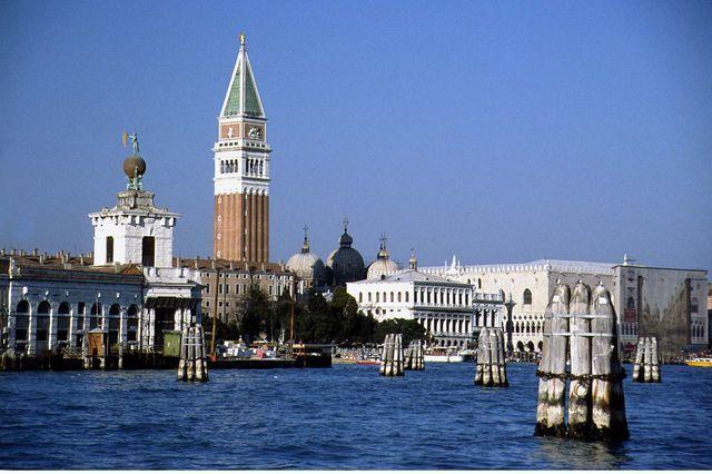 Venetië klokketoren van San marco
