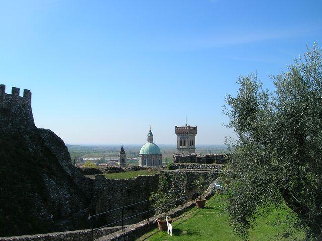 Brescia città vista dal suo castello