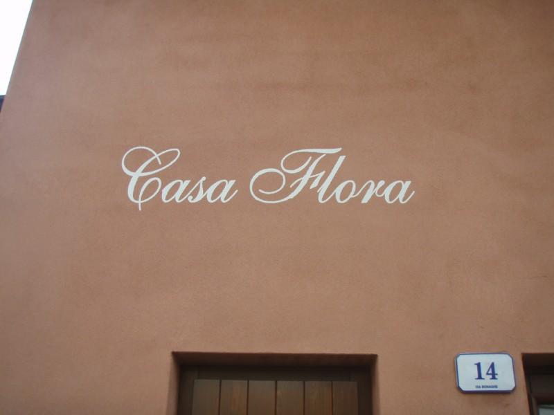 Casa Flora draußen, Hotel Alpino, Idro See