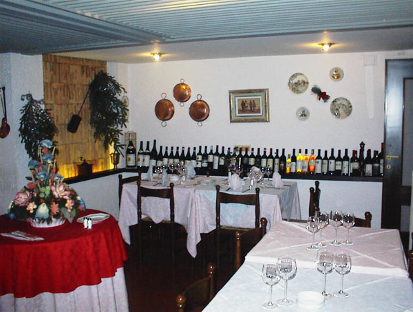 Idro lake, Hotel Alpino restaurant