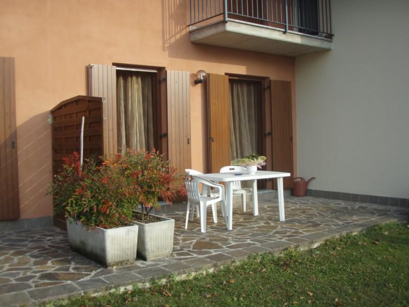 Terrazza esterna Casa Flora - lago di Idro - Hotel Alpino