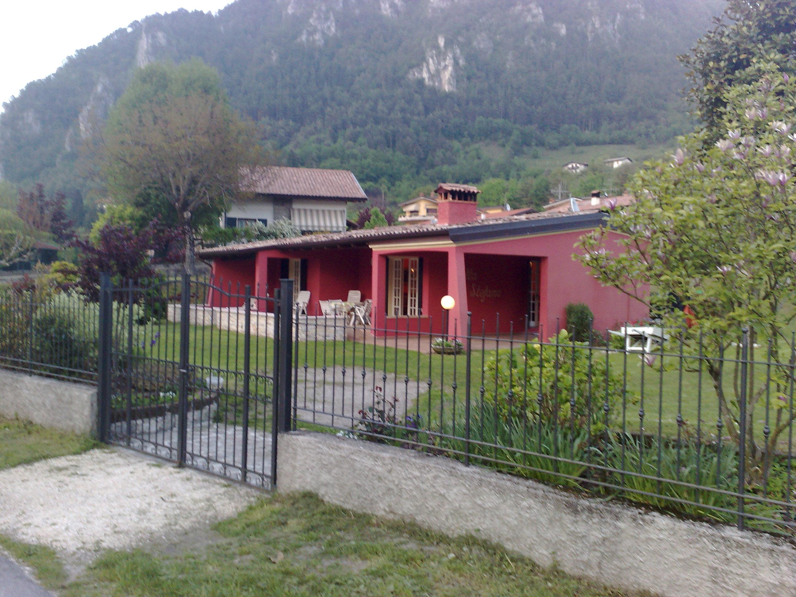 Villa Stefano Lago d'Idro: esterno