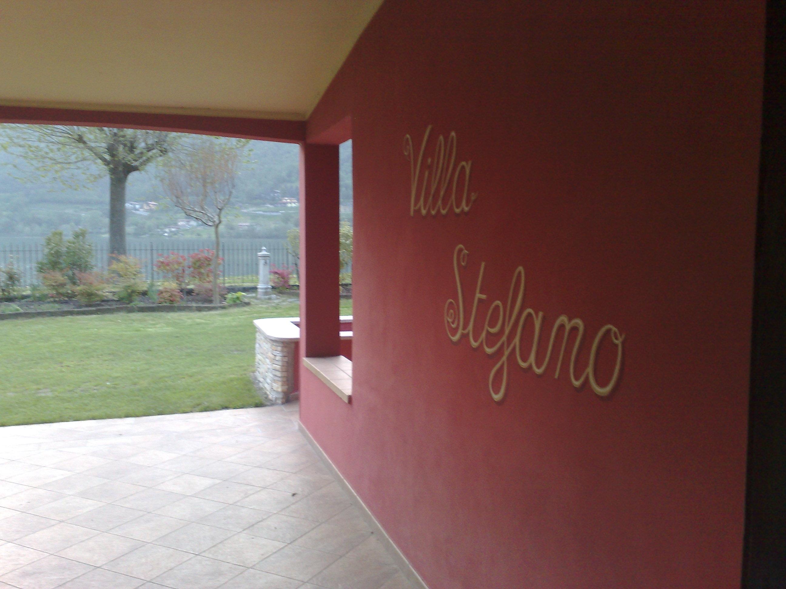 Villa Stefano Lago d'Idro Vista Lago